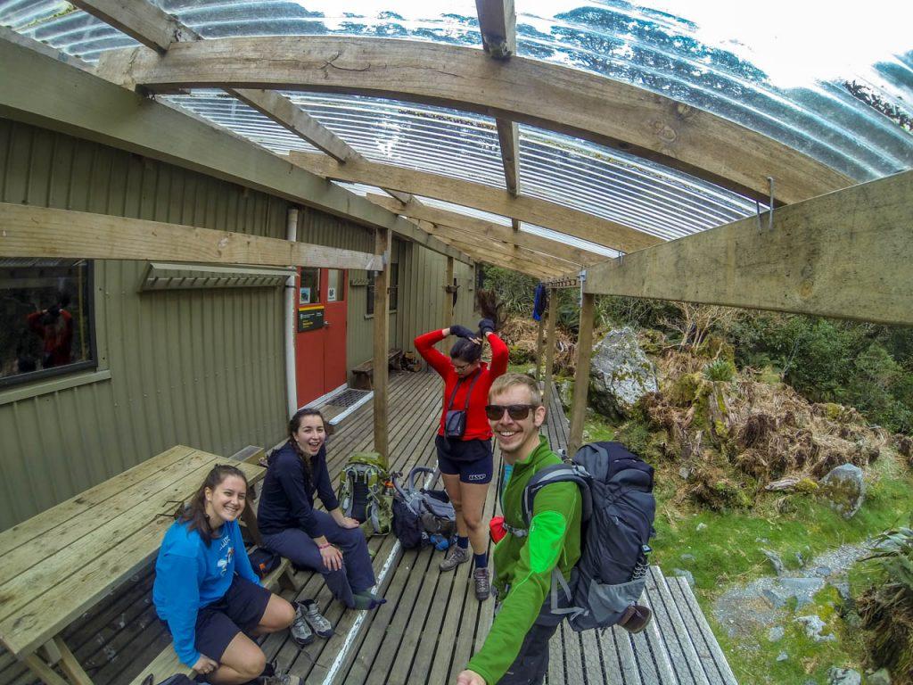 Zweite Hütte am Milford Track