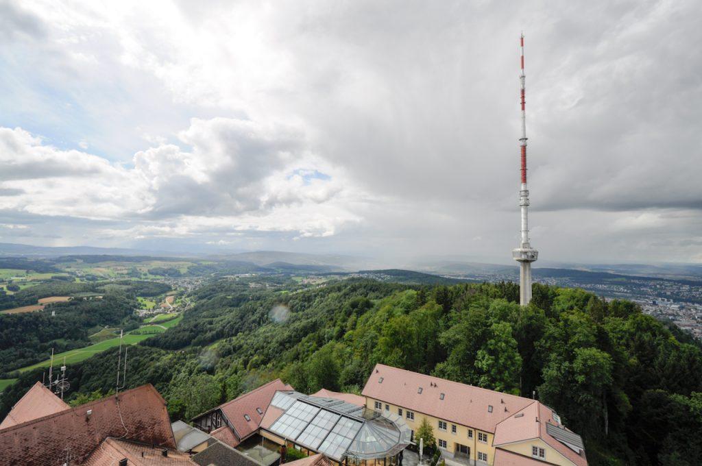 Schweiz: Uetliberg Fernsehturm