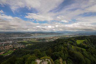 Schweiz: Uetliberg - Züricher Hausberg