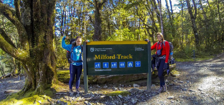 Start des Milford Track