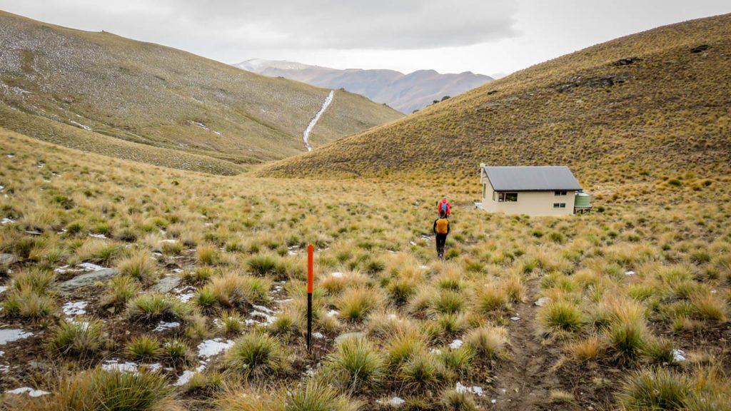Leichter Abstieg zur Pakituhi Hütte