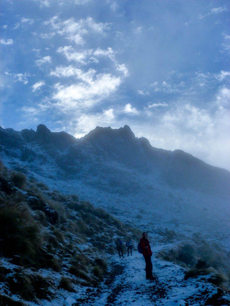 Spitze Gipfelformationen