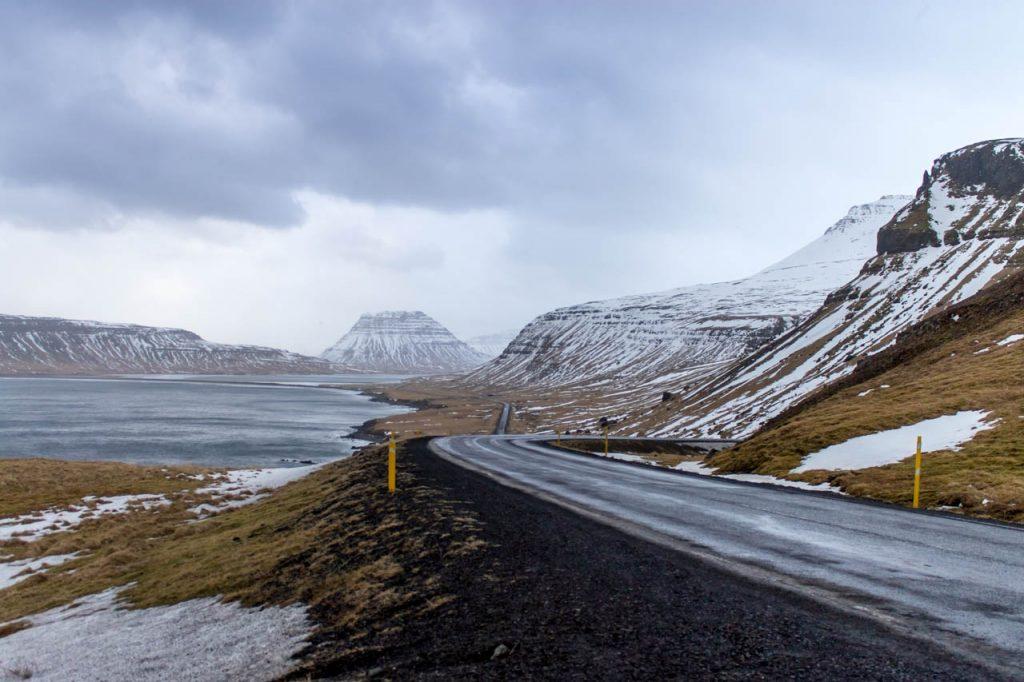 Eine Bucht im Norden von Snæfellsnes
