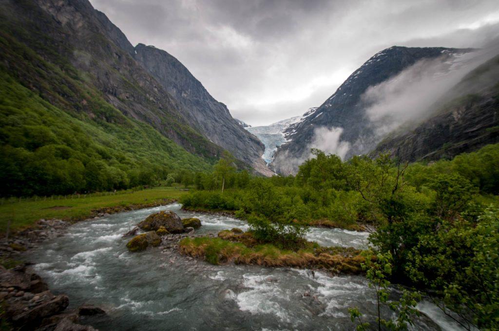 Brisdal Gletscher