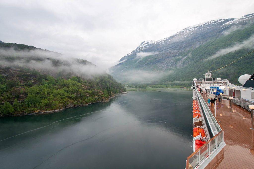 In den Fjorden von Norwegen