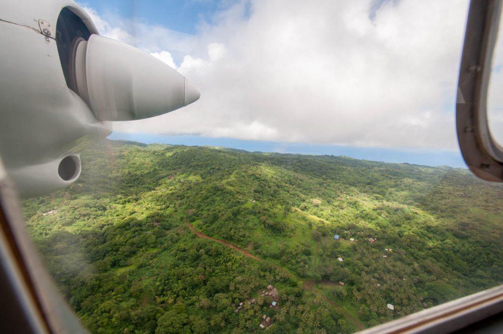 Aussicht auf Tanna Island