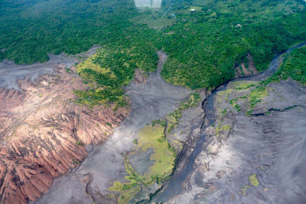 Aussicht auf die Natur der Insel Tanna