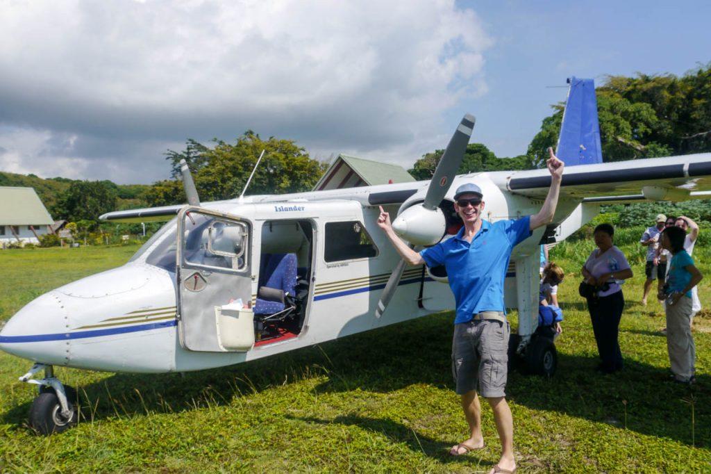 Mit dem Flugzeug nach Tanna Island