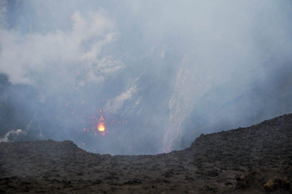 Blick in den Vulkan