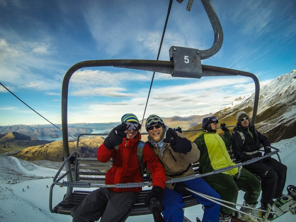 Wintersport in Wanaka - Treble Cone