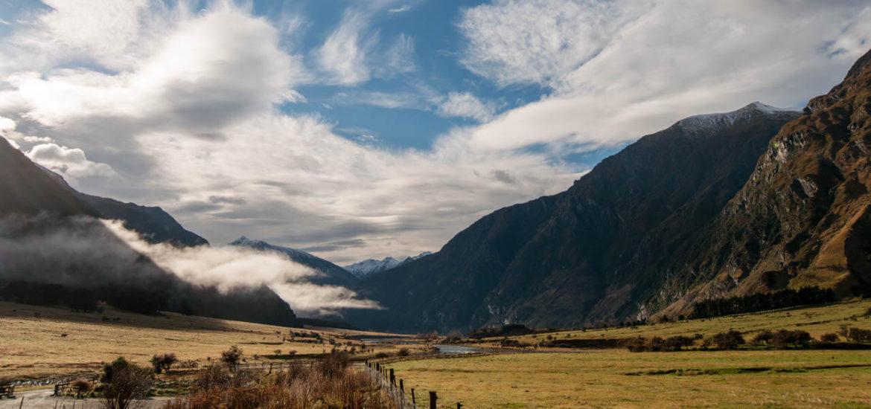 Rob Roy Gletscher Wanderung