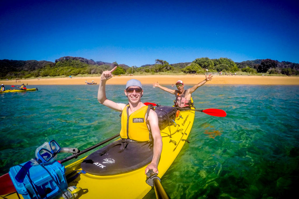 Totaranui Bay - Kayak im Abel Tasman