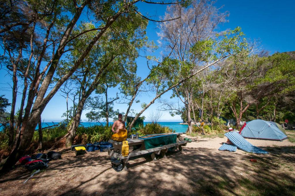 Onetahuti Campingplatz