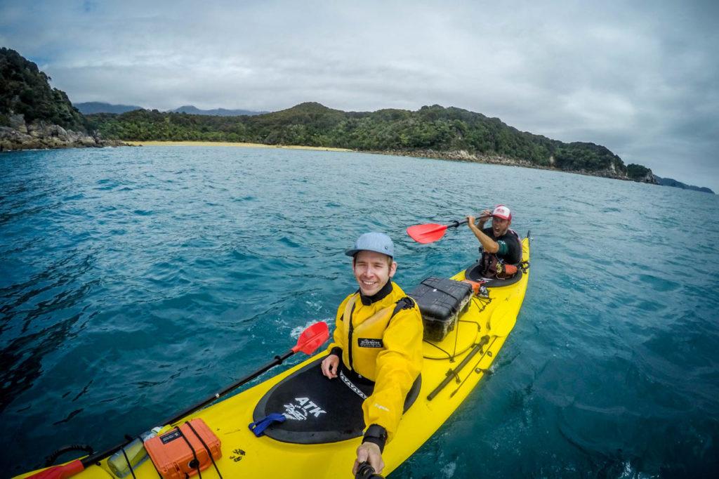 Verrückter Abel Tasman Kayaks Guide - Kyle